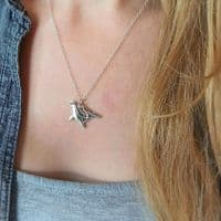 Humpback Whale Pendant Necklace | Selkie Jewellery